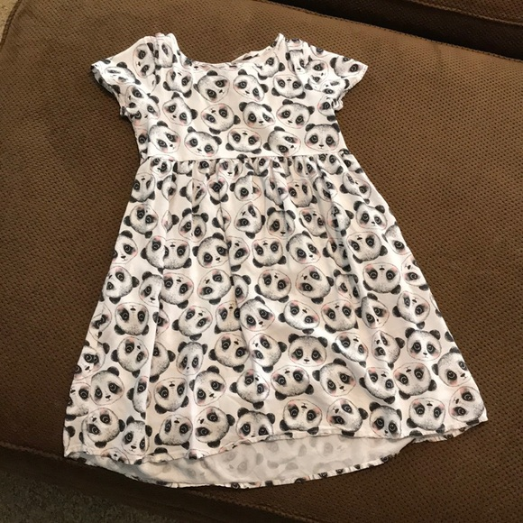 429af4d98f23 H&M Dresses | Girls Panda Dress Sz 78 | Poshmark